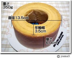 こじま洋菓子店/あの頃に見た、大きな切り株