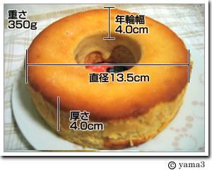 ラスクとバームクーヘンのヤタロー/チーズケーキみたいなバウムクーヘン
